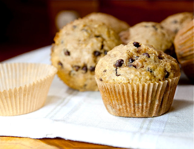 Oatmeal Chocolate Chip Muffins – The Right Recipe